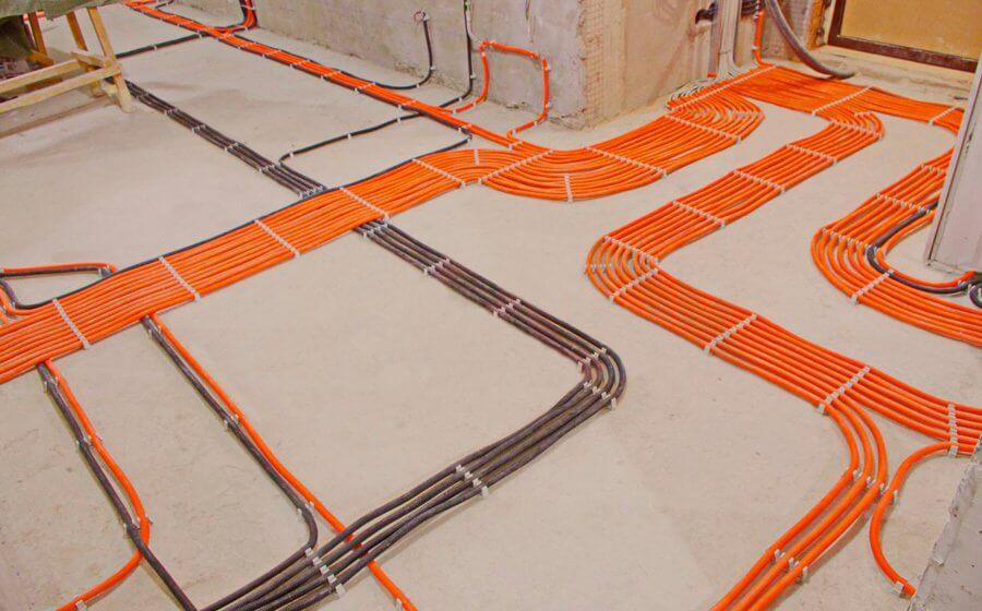прокладка 1 метра кабеля